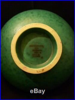 Vintage Wilhelm Kåge/Kaage, Gustavsberg, Argenta Art deco bowl decorated fish