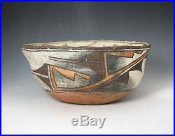 Vintage Zuni Dough Bowl Circa 1900, 5.5 x 11.25