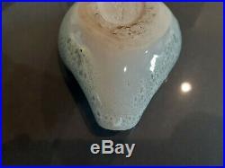 Vintage aqua RUSSEL WRIGHT BAUER Art Pottery Bowl organic ashbowl no damage