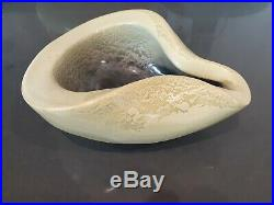 Vintage jonquil RUSSEL WRIGHT BAUER Art Pottery Bowl organic ashbowl no damage