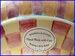 Vtg 2004 Mackenzie Childs Wallcourt 12 Covered Serving Bowl Tureen FREEUSHIP