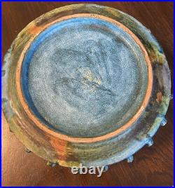 Vtg Alvino Bagni Raymor Console Bowl Sea Garden Series