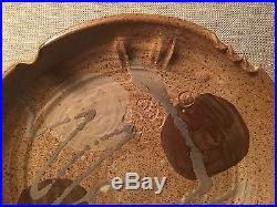 Vtg Chop Mark Signed Japanese Studio Pottery Bowl Warren Mackenzie Shoji Hamada