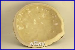 Vtg Great Impressions Patricia Garrett Pottery Rare Squash Tureen Lidded Bowl