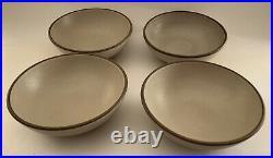Vtg Heath Ceramics Pottery Dessert Bowls Sausalito Euc