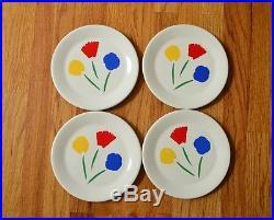 Vtg MARIMEKKO Pfaltzgraff Dinner & Lunch Plates Bowls Saucers 13 Pcs. Tuplip