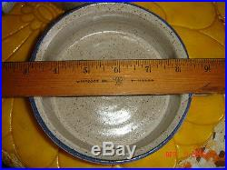 Vtg MID Century Ooak Rare Studio Soup Cereal Chili Beans Fancy Handle Bowl Set 6