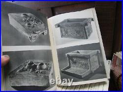Vtg RARE 1958 Japanese Pottery Book Set of 32 / Karatsu Oribe Kutani Kenzan HB