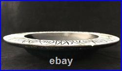 Vtg RARE Lisa Larson Large Art Pottery Dish'Paloma 2' Gustavsberg Sweden MCM