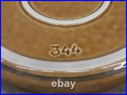 Vtg Very Rare Lapid Israel Israeli Bowl Eilot / Deer Handpainting 50's