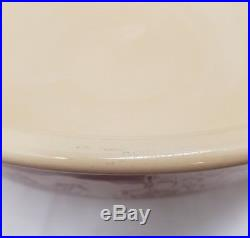 Wallace China Westward Ho Pioneer Trails Large Serving Bowl Round Vintage 12.5