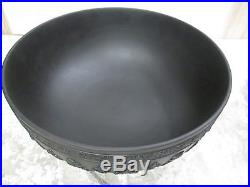 Wedgwood Black Basalt Acanthus Bowl Set Rare/Vintage