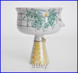 Wiinblad Eva Vtg Mid Century Danish Modern Ceramic Pottery Girl Bowl Sculpture