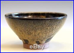 William Wyman Studio Pottery Vintage Chawan Tea Ceremony Drip Bowl Dated 1958